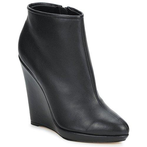 Schuhe Damen Ankle Boots Bourne FONATOL Schwarz