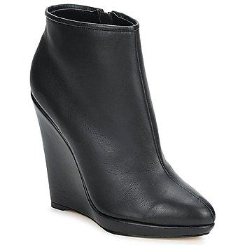 Stiefelletten / Boots Bourne AGATHA Schwarz 350x350