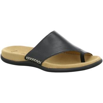 Schuhe Damen Pantoffel Gabor Pantoletten 03.700.27 schwarz