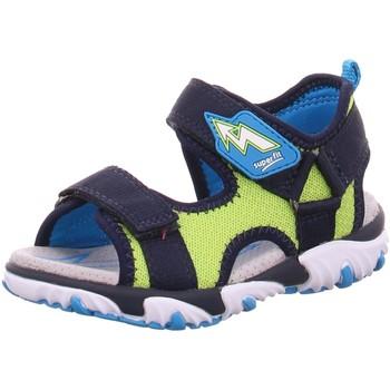 Schuhe Jungen Sandalen / Sandaletten Superfit Sandalen 09172-80 blau