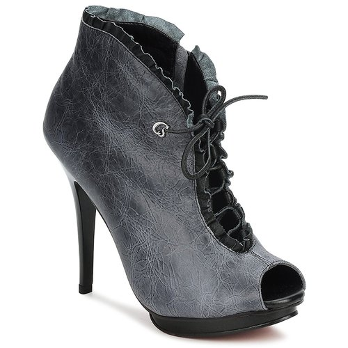 Stiefelletten / Boots Carmen Steffens 6002043001 Schwarz / Grau 350x350
