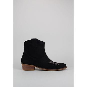 Schuhe Damen Low Boots Bryan CALIOPE BORDADO Schwarz