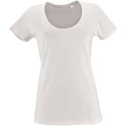 Kleidung Damen T-Shirts Sols METROPOLITAN CITY GIRL Blanco