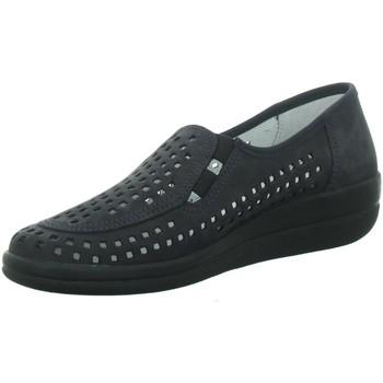Schuhe Damen Slipper Longo Slipper Beq.bis25mm-Abs 1006444 blau