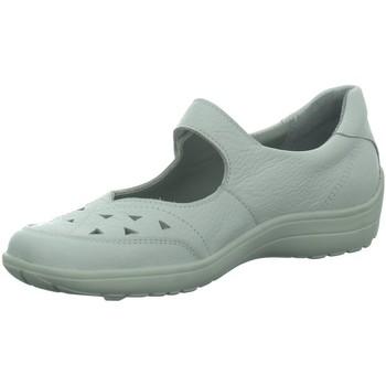 Schuhe Damen Ballerinas Longo Slipper 1008170 weiß