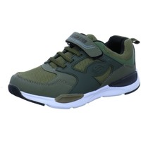 Schuhe Jungen Sneaker Low Dockers by Gerli Schnuerschuhe 44SD602-637850 oliv