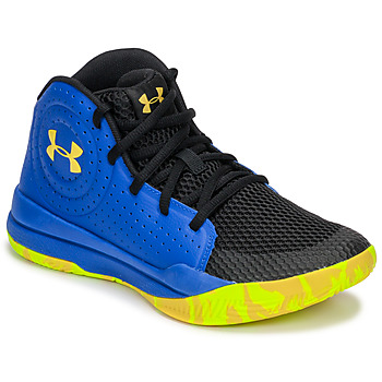 Schuhe Kinder Basketballschuhe Under Armour GS JET 2019 Blau / Gelb