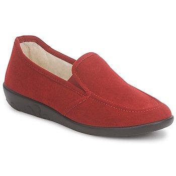 Schuhe Damen Hausschuhe Rohde LEONORE Rot