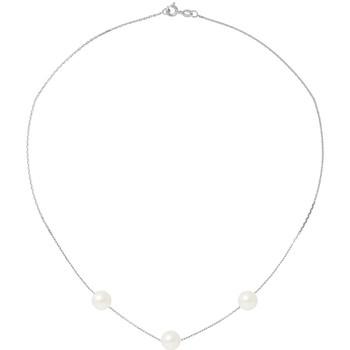 Uhren & Schmuck Damen Collier Blue Pearls BPS 0254 W - OB Weiss