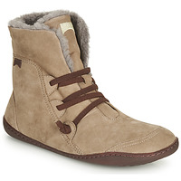 Schuhe Damen Boots Camper PEU CAMI Beige