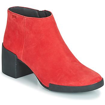 Schuhe Damen Low Boots Camper LOTTA Rot