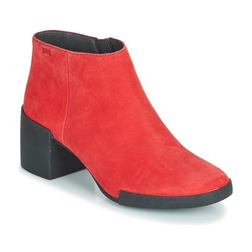 Camper LOTTA Rot - Kostenloser Versand       - Schuhe Low Stiefel Damen 119