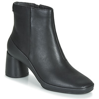 Schuhe Damen Low Boots Camper UP RIGHT Schwarz