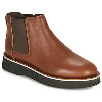 Schuhe Damen Boots Camper TYRA chelsea Braun