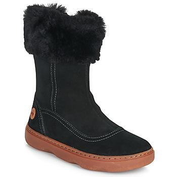 Schuhe Mädchen Klassische Stiefel Camper KIDDO Schwarz