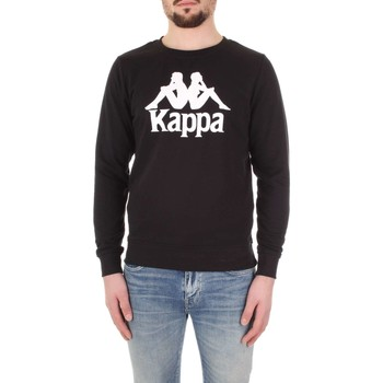 Kleidung Herren Sweatshirts Kappa 303WIV0 Schwarz / Weiß