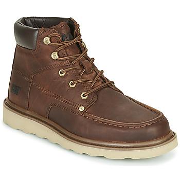Schuhe Herren Boots Caterpillar BYRON Braun