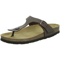 Schuhe Damen Pantoffel Rohde Pantoletten Bio Pantolette sportlicher Boden 5628/72 braun