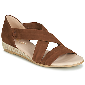 Schuhe Damen Sandalen / Sandaletten Betty London  Cognac