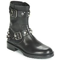 Schuhe Damen Boots Tosca Blu GISELLE Schwarz