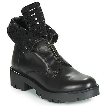 Schuhe Damen Boots Tosca Blu DIANE Schwarz