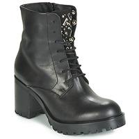 Schuhe Damen Low Boots Tosca Blu KATE Schwarz