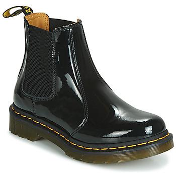 Schuhe Damen Boots Dr Martens 2976 PATENT LAMPER Schwarz