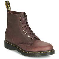 Schuhe Herren Boots Dr Martens 1460 PASCAL Braun