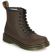 Schuhe Kinder Boots Dr Martens 1460 SERENA JUNIOR Braun