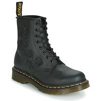 Schuhe Damen Boots Dr Martens 1460 VONDA MONO SOFTY T Schwarz