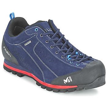 Schuhe Herren Wanderschuhe Millet FRICTION GTX Blau / Rot