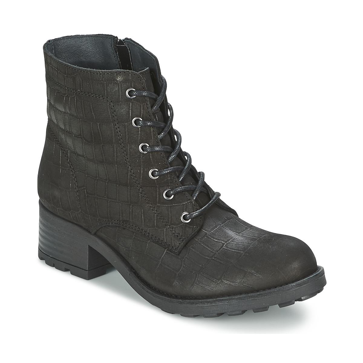 Shoe Biz RAMITKA Schwarz - Kostenloser Versand bei Spartoode ! - Schuhe Boots Damen 79,50 €