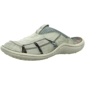 Schuhe Herren Sandalen / Sandaletten Krisbut Slipper 1075-24-1 grau