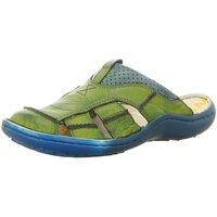 Schuhe Herren Sandalen / Sandaletten Krisbut Slipper 1075-8-1 grün