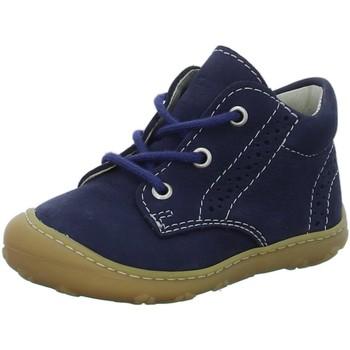 Schuhe Jungen Babyschuhe Ricosta Schnuerschuhe 69 1221700/187 blau
