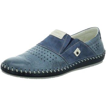 Schuhe Damen Slipper Krisbut Slipper 5164-2-1 blau
