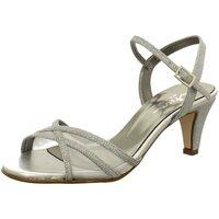 Schuhe Damen Sandalen / Sandaletten Vista Sandaletten Elegante Sandalette 31-F0182SILBER silber