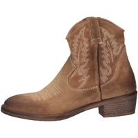 Schuhe Damen Low Boots Metisse CP603 TAUPE Texano Frau Taupe Taupe