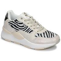 Schuhe Damen Sneaker Low MTNG 69867-C47433 Schwarz / Weiss