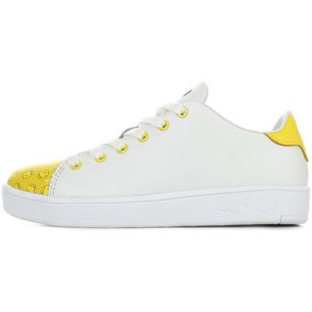 Schuhe Kinder Sneaker Smiley Enjoy Weiss