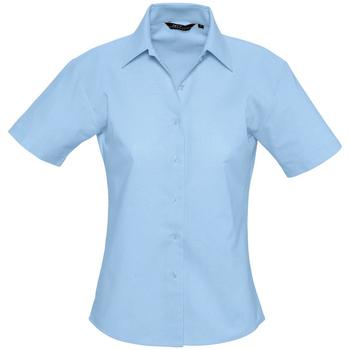 Kleidung Damen Hemden Sols ELITE OXFORD Azul