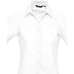 Kleidung Damen Hemden Sols ELITE OXFORD Blanco