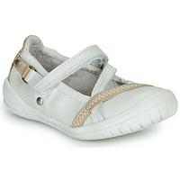Schuhe Mädchen Ballerinas Ramdam BEZIERS Weiss