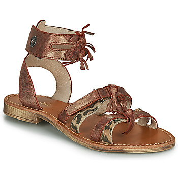 Schuhe Mädchen Sandalen / Sandaletten Catimini CABRI Braun