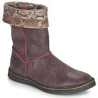 Schuhe Mädchen Klassische Stiefel Ramdam CRACOVIE Bordeaux