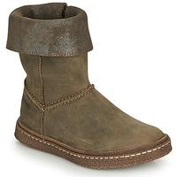 Schuhe Mädchen Klassische Stiefel Ramdam CRACOVIE Kaki