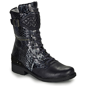 Schuhe Mädchen Klassische Stiefel Ikks KIMBERLEY Schwarz