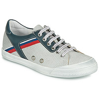 Schuhe Jungen Sneaker Low Ramdam KAGOSHIMA Weiss / Blau