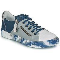 Schuhe Jungen Sneaker Low Ikks BRANDON Blau / Grau
