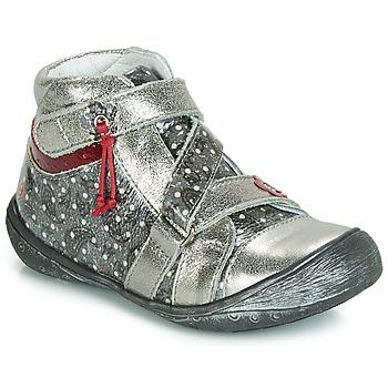 Schuhe Mädchen Boots GBB NADETTE Silbern